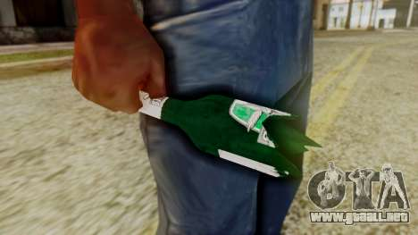GTA 5 Broken Bottle v1 para GTA San Andreas segunda pantalla