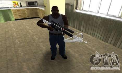 Crossbow para GTA San Andreas segunda pantalla