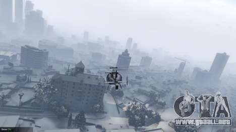 GTA 5 Singleplayer Snow 2.1 tercera captura de pantalla