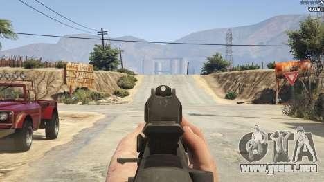 GTA 5 BF4 AR160 séptima captura de pantalla