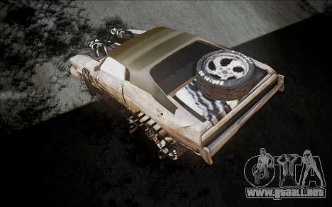 Mad Max 2 Ford Landau para GTA San Andreas vista posterior izquierda