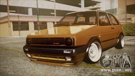 Volkswagen Golf Mk2 Schmidt TH Line para GTA San Andreas
