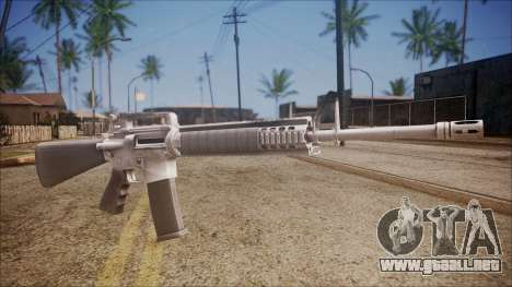 M16A3 from Battlefield Hardline para GTA San Andreas