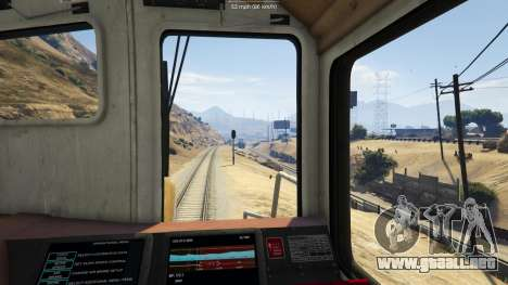 GTA 5 Railroad Engineer 3 tercera captura de pantalla