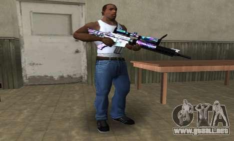 Automatic Sniper Rifle para GTA San Andreas segunda pantalla