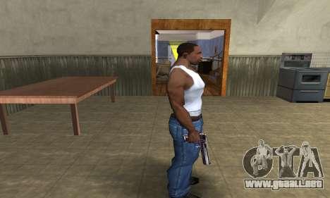Purple Deagle para GTA San Andreas tercera pantalla