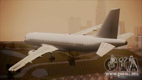 Airbus A320-200 para GTA San Andreas left