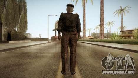 RE4 Don Esteban para GTA San Andreas tercera pantalla