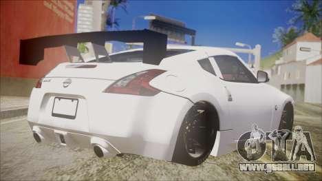 Nissan 370Z SPPC para GTA San Andreas left