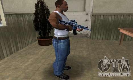 Cold M4 para GTA San Andreas tercera pantalla