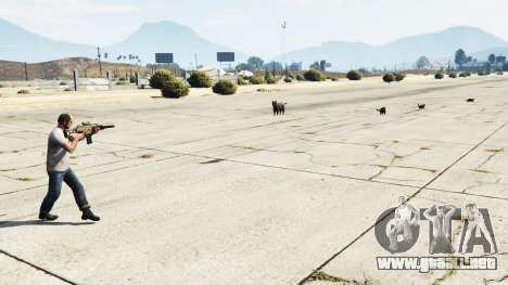 GTA 5 Animal Cannon v1.1 segunda captura de pantalla