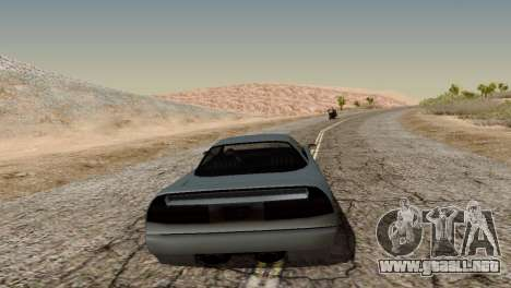Physics from Forza Motorsport 5 para GTA San Andreas segunda pantalla
