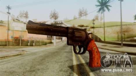 Colt Revolver from Silent Hill Downpour v2 para GTA San Andreas