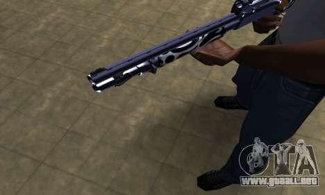 Oval Shotgun para GTA San Andreas segunda pantalla