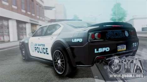 Hunter Citizen Police LS IVF para GTA San Andreas left
