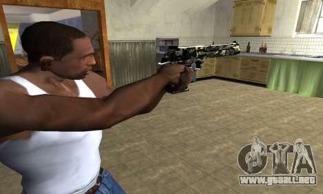 Deagle Camo para GTA San Andreas segunda pantalla