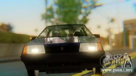 VAZ 2108 Stoke para visión interna GTA San Andreas