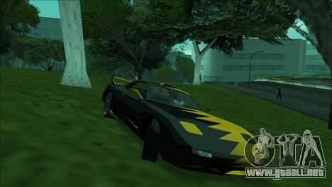 ZR-350 Double Lightning para GTA San Andreas