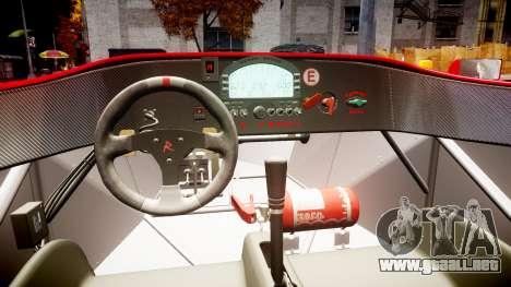 Radical SR8 RX 2011 [6] para GTA 4 vista interior
