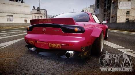 Mazda RX-7 RocketBunny [EPM] para GTA 4 Vista posterior izquierda