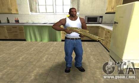 Zloty Tajfun Combat Shotgun para GTA San Andreas tercera pantalla