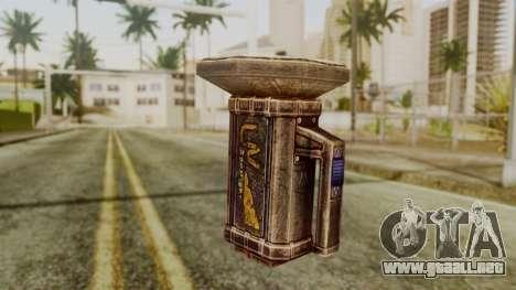 Forensic Flashligh from Silent Hill Downpour para GTA San Andreas segunda pantalla