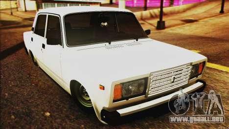 VAZ 2107 E-Diseño de para GTA San Andreas