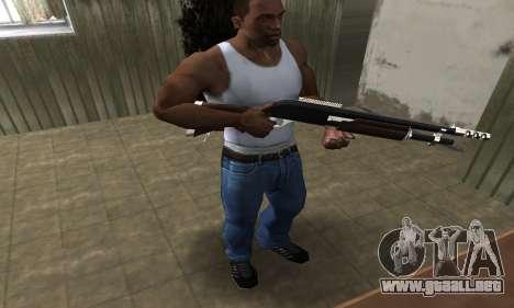 Biggie Shotgun para GTA San Andreas tercera pantalla