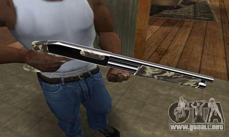 Militarry Shotgun para GTA San Andreas