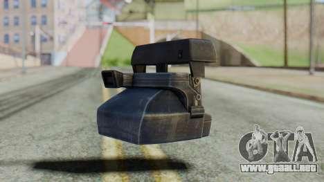 Camera from Silent Hill Downpour para GTA San Andreas segunda pantalla