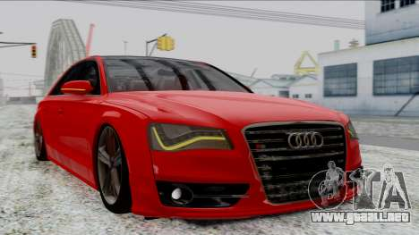 Audi A8 Turkish Edition para GTA San Andreas