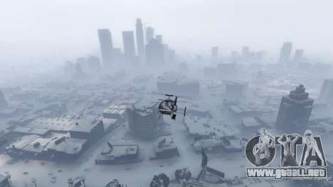 GTA 5 Singleplayer Snow 2.1 quinta captura de pantalla