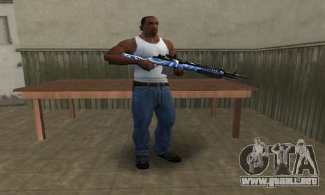 JokerMan Rifle para GTA San Andreas tercera pantalla