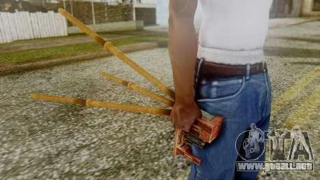 Red Dead Redemption Camera para GTA San Andreas tercera pantalla
