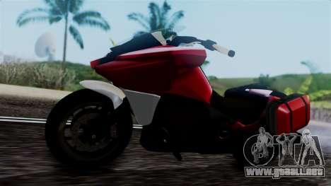 Dinka Vindicator SA Plate para la visión correcta GTA San Andreas