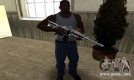 Original M4 para GTA San Andreas tercera pantalla