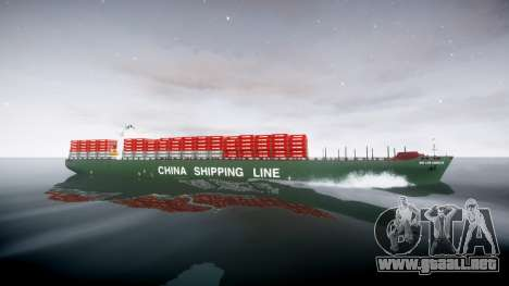 Un barco de contenedores para GTA 4 left