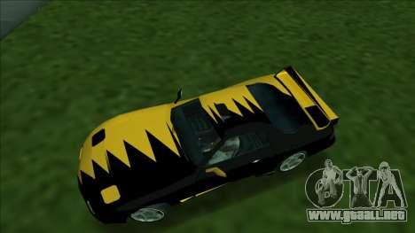 ZR-350 Double Lightning para la visión correcta GTA San Andreas
