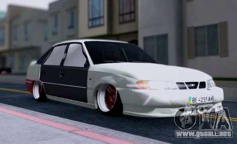 Daewoo Nexia 2006 para vista inferior GTA San Andreas