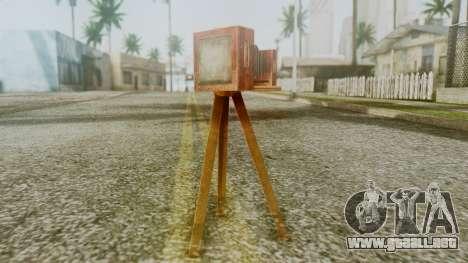Red Dead Redemption Camera para GTA San Andreas segunda pantalla