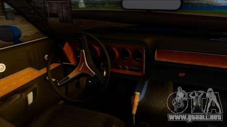 Dodge Charger Super Bee 426 Hemi (WS23) 1971 PJ para la visión correcta GTA San Andreas