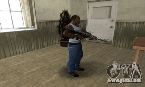 Brown AUG para GTA San Andreas tercera pantalla