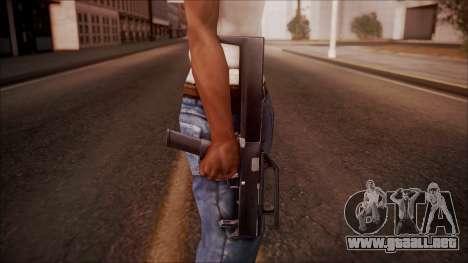 FMG-9 from Battlefield Hardline para GTA San Andreas tercera pantalla