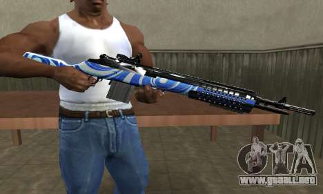JokerMan Rifle para GTA San Andreas