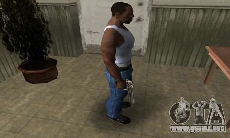 Full of Gold Deagle para GTA San Andreas tercera pantalla