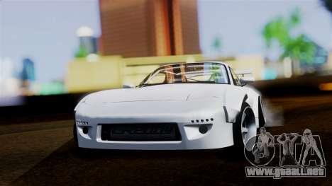 Mazda RX-7 (FD) para GTA San Andreas vista posterior izquierda