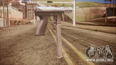 TEC-9 v2 from Battlefield Hardline para GTA San Andreas segunda pantalla