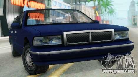 Premier Station Wagon para la visión correcta GTA San Andreas