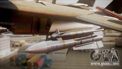 F-14D AC6 Halloween para la visión correcta GTA San Andreas