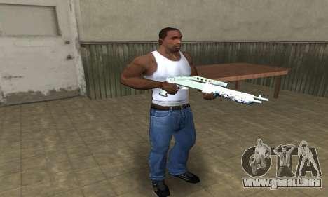 Graf Spas-12 para GTA San Andreas tercera pantalla